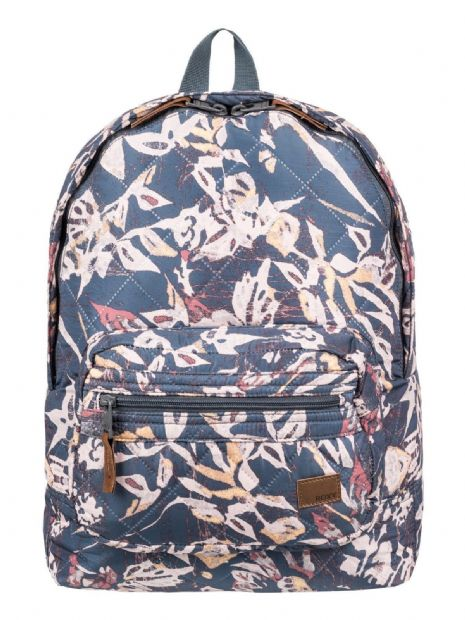 ROXY WOMENS BACKPACK BAG.MORNING LIGHT QUILTED RUCKSACK SCHOOL 16L 8W 774 KYM6